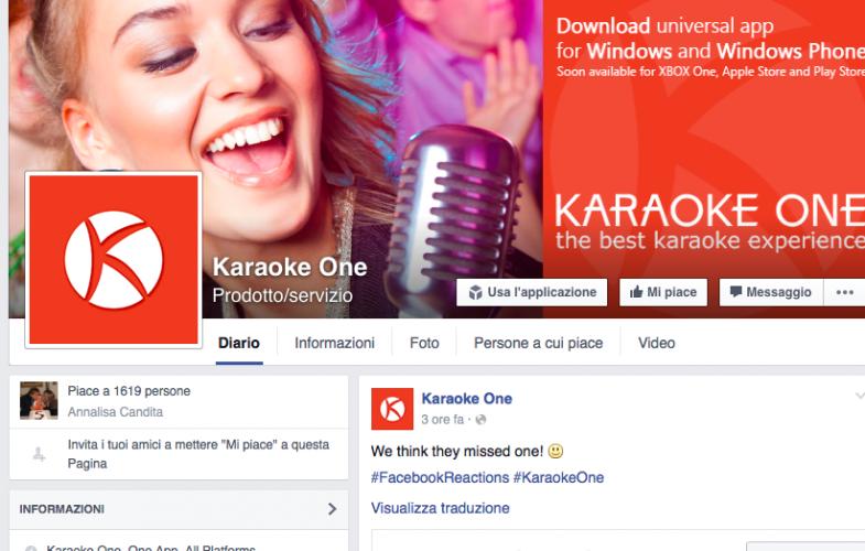 FACEBOOK – La nuova app Karaoke One creata in Puglia. Una rivoluzione