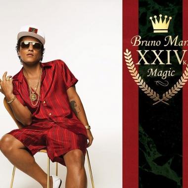 Musica – Bruno Mars, ecco 24k magic