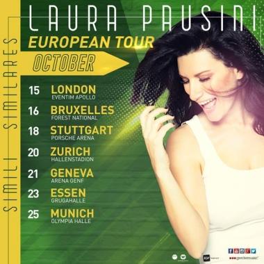 Musica – Laura Pausini cancella cinque date del tour europeo per motivi di salute