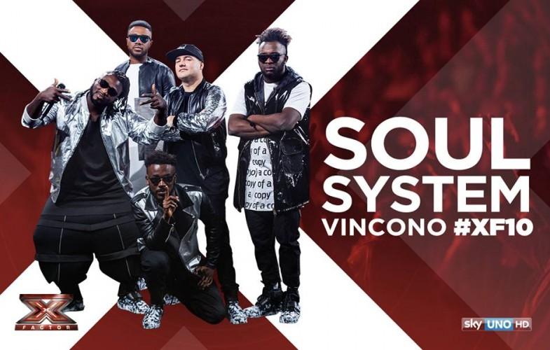 Talent – I Soul System vincono Xfactor