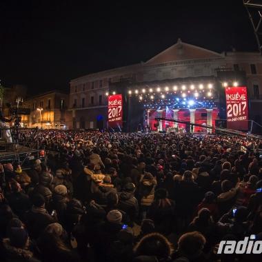 Mezzo milione di spettatori in TV per il Capodanno di Radionorba in diretta da Bari