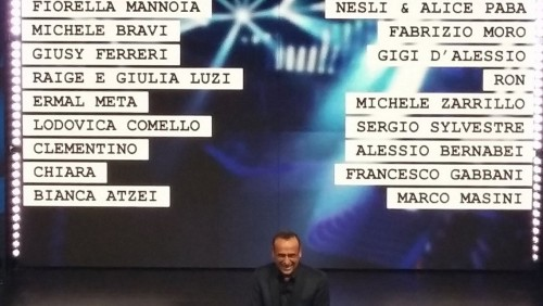 Sanremo – Ecco di cosa e di chi parlano le canzoni del festival