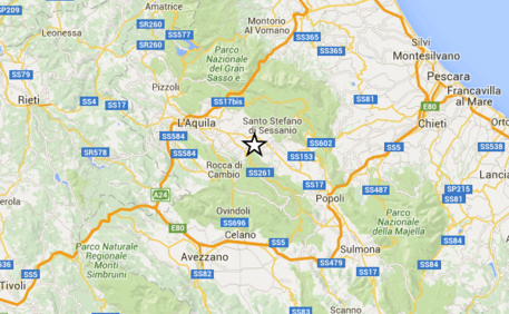+++Terremoto in centro Italia: la prima scossa di 5.4, la seconda  più forte da 5.6+++