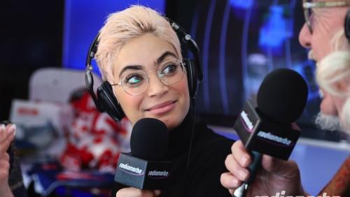 Sanremo – Sul truck di Radionorba: Sylvestre, Samuel, Ron, Bravi, Elodie e Atzei