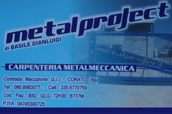 Metalproject di Basile Gianluigi