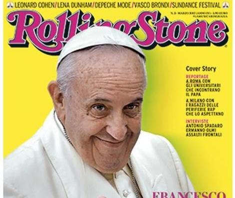 Vaticano – Francesco, Papa Pop e sempre più solo. La copertina di  Rolling Stone