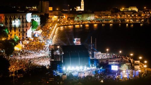 Battiti Live  2017 parte da Bari a vele spiegate