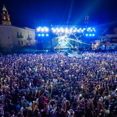 Battiti live ad Andria, emozione e calore