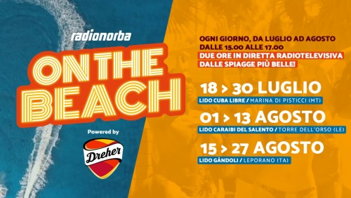 Radionorba on the beach