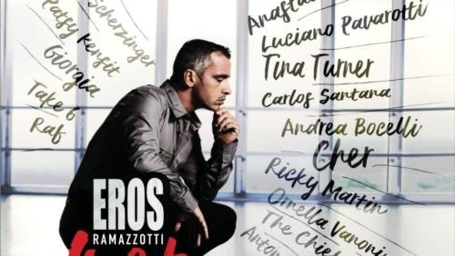 Musica – Eros Ramazzotti: esce il nuovo album di duetti