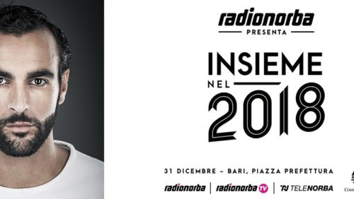 Bari saluta il 2017 con Marco Mengoni. Un altro grande evento prodotto da Radionorba