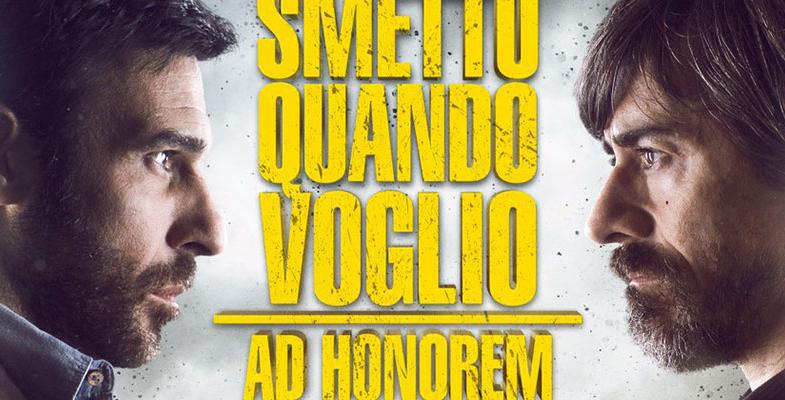 """Cinema – """"Smetto quando voglio"""": Edorardo Leo, Valerio Aprea, Lorenzo Lavia e  Sidney Sibilia ospiti di Radionorba"""