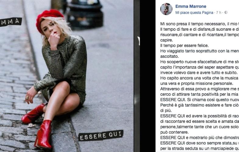 Musica – Emma: anno nuovo, disco nuovo