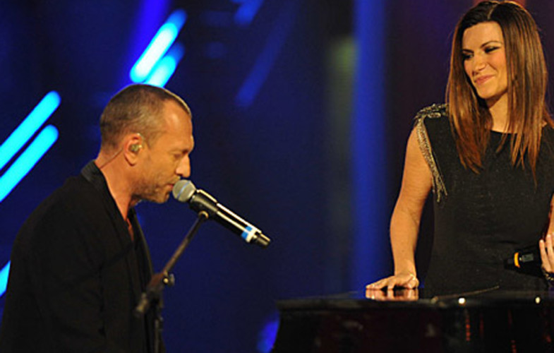 Sanremo  – Pausini e Antonacci all'Ariston.