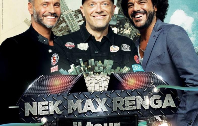 Musica – Pezzali, Nek e Renga: tre nuove date si aggiungono al tour