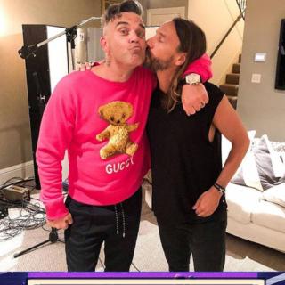 Musica - Robbie Williams duetta con Bob Sinclar