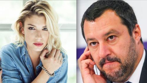 """Salvini: """"Una idiozia gli insulti a Emma, andrò a un suo concerto"""""""