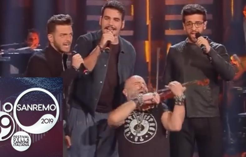 """#sanremo2019 – Quarta, il genio salentino che fa """"cantare"""" il violino"""