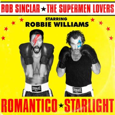 Musica: Bob Sinclar torna con The Superman Lovers e Robbie Williams