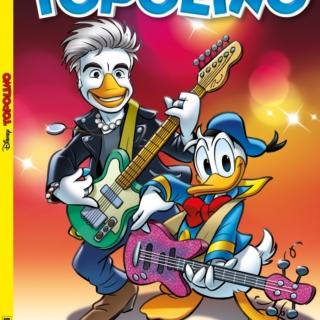 Musica e Fumetti - Ligabue diventa Liga Duck e canta Paperopoli