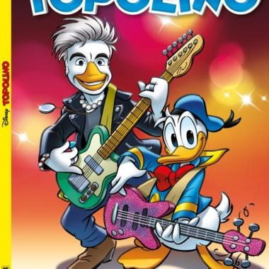 Musica e Fumetti – Ligabue diventa Liga Duck e canta Paperopoli