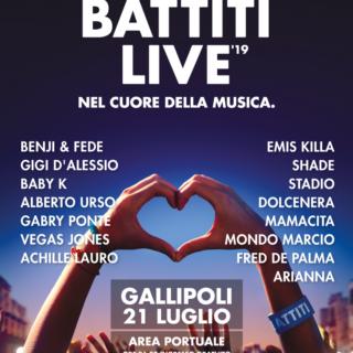 Battiti Live 2019 - Gallipoli, stiamo arrivando