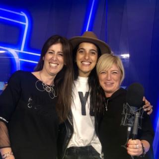 La cantante ha presentato in diretta su Radionorba il suo ultimo album