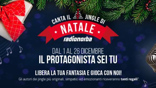 Canta il jingle di Natale di Radionorba