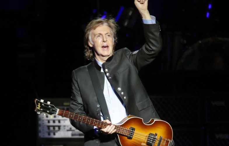 Musica – Paul Mc Cartney ricomincia da Napoli