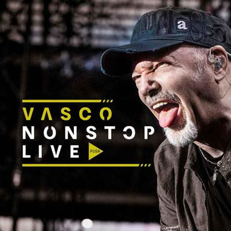 """VASCO ROSSI – VASCO NON STOP LIVE (VERSIONE 2CD + 2DVD + BLURAY)  """"VASCO NON STOP LIVE"""" E' IL DOPPIO ALBUM DI VASCO ROSSI, UN COFANETTO DI CD E DVD CHE RACCONTA L'ESTATE DEI RECORD, QUELLA 2019, IN CUI IL ROCKER E' STATO PROTAGONISTA DI BEN SEI CONCERTI A SAN SIRO. IL DISCO CONTIENE 29 CANZONI TRATTE DAI SEI CONCERTI A SAN SIRO, PIÙ """"SE TI POTESSI DIRE"""", L'INEDITO PUBBLICATO IN OTTOBRE."""