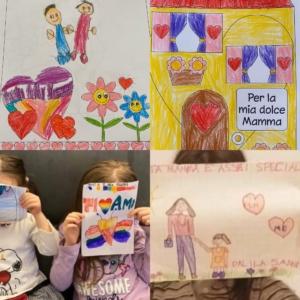 Da oggi il week end speciale del Family party dedicato alle mamme: i bambini scatenati inviano centinaia di disegni