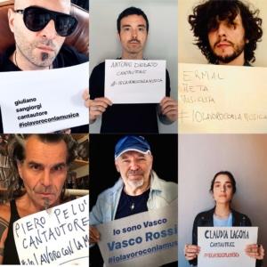 #iolavoroconlamusica: la protesta degli artisti italiani