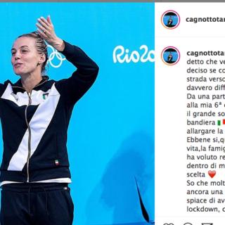 Tania Cagnotto lascia lo sport