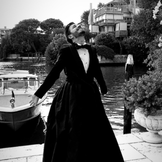 Venezia 77 - Al festival del cinema sfila Osvaldo Supino
