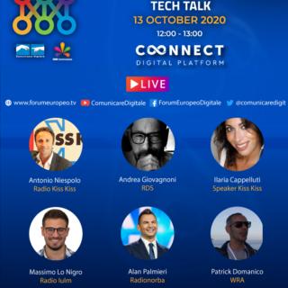 Radio/ Oggi il tech talk con Alan Palmieri