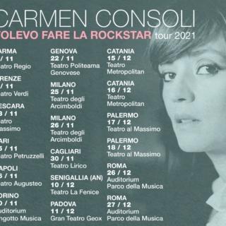 Musica - Nuovo album e tour per Carmen Consoli