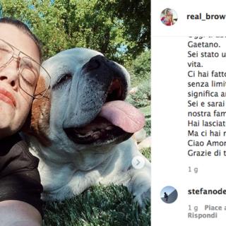 Emma Marrone addolorata per la scomparsa del suo cane