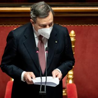 ++Draghi ottiene la fiducia al Senato +++