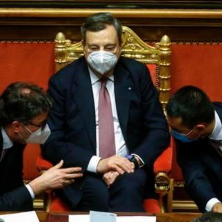 +++Draghi ottiene la fiducia alla Camera+++