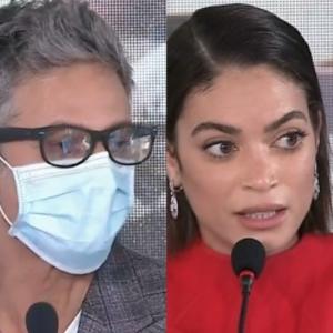 Sanremo 2021 - Fiorello si commuove in conferenza stampa, Elodie mostra se stessa