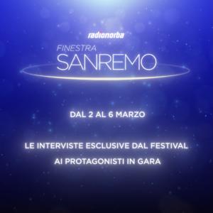 Sanremo 2021 - Le voci dei cantanti del festival in diretta su Radionorba