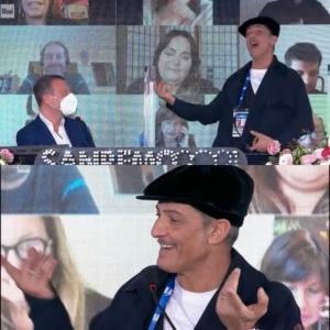 Sanremo 2021 - Amadeus e Fiorello complici in conferenza stampa