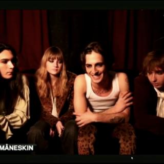 """Sanremo2021 - Maneskin a Radionorba: """"L'Ariston  senza pubblico?  Come la sala prove"""""""