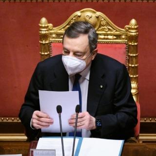 """Ddl Zan, Draghi in Senato: """"Il nostro è uno Stato laico, il Parlamento libero di discutere"""""""