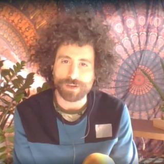 Sanremo 2021 - Giò Evan, a Sanremo in tenda