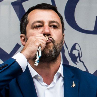 Politica, Salvini (Lega) lancia la proposta di un partito di destra europeo