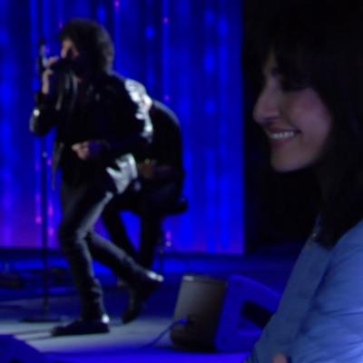 Primo maggio – Francesco Renga dedica ad Ambra la sua canzone e si emoziona