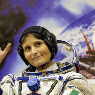 Samantha Cristoforetti prima donna europea comandante della Stazione Spaziale