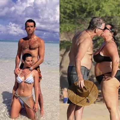 Costume – Pierce Brosnan e la moglie: amarsi è….anche invecchiare e ingrassare insieme