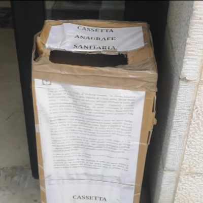 Asl Bari, prenotazioni in una scatola di cartone